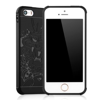 Gerai Soft Silikon TPU Shockproof Armor Dragon Case Cover For Apple iPhone 5 .