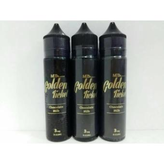 Golden ticket tiket USA premium liquid 60ml vape vapor