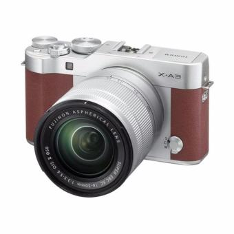 Harga Fujifilm X-A3 Kit 16-50mm OIS II / Brown