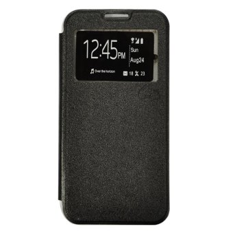 Harga Smile Flip Cover Case Lumia 640XL - Hitam
