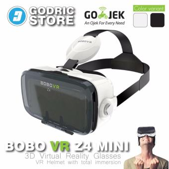 Harga BOBOVR Z4 MINI PREMIUM CLASS VR Virtual Reality Google Cardboard 3D - Putih