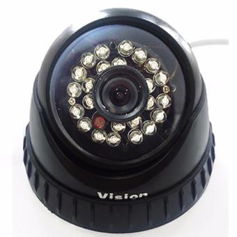 Harga CCTV Kamera Indoor Vision CMOS 1,3 MP HD - 24 LED IR Night Vision Lensa 3,6 mm - Vision CD 678 HD