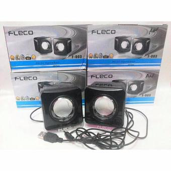 Harga BigBos Store Speaker Mini Fleco F-003 Power USB