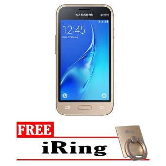 Harga Samsung J1 Mini [8 GB] - Gold + Free I-Ring