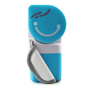 Harga Whiz Portable Mini AC Handy Cooler Personal Air Conditioner - Blue