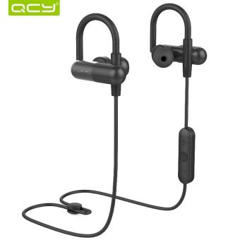 Harga QCY QY11 APTX HIFI 3D stereo earphones MP3 bass music headset bluetooth 4.1 wireless headphones sports ear hook - intl
