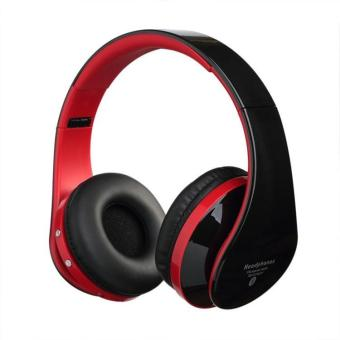 Harga Fashion innovative bluetooth headset outdoor sports wireless bluetooth headphones - red - intl