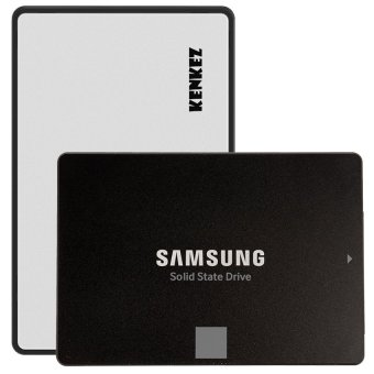 Harga Samsung SSD 850 EVO 250GB with SSD External Case USB 3.0 Super High Speed - Silver