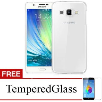 Harga Case for Samsung Galaxy C5 - Clear + Gratis Tempered Glass - Ultra Thin Soft Case