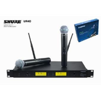 Harga microphone Mic wireless shure UR 4 D beta 58