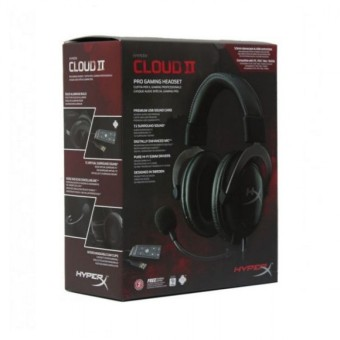 Harga Kingston HyperX Cloud II - Pro Gaming Headset (Gun Metal - KHX-HSCP-GMMetal)