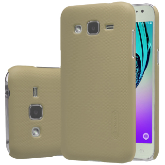 Harga Nillkin Frosted Shield Hardcase for Samsung Galaxy J1 Ace - Gold