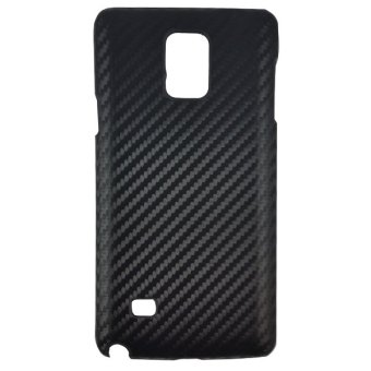 Harga Delcell Carbon Case For Samsung Galaxy Note 4 - Hitam