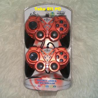 Harga E-Smile Stik / Stick / Joystick Double E-Smile Turbo PC Dual Shock Joypad USB 2.0