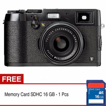 Harga Fujifilm X100T Digital Camera + Gratis SDHC 16GB
