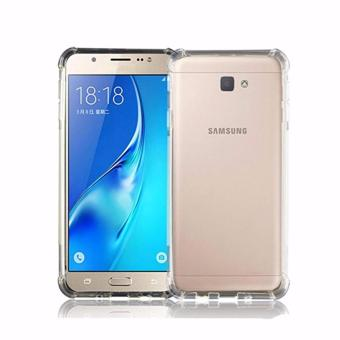 Harga Softcase Casing for Samsung Galaxy C5 Pro Case Anti Crack / Anti Shock [Clear]