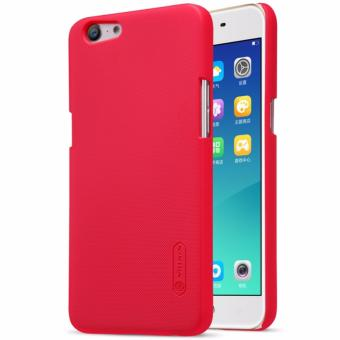 Nillkin Super Frosted case for Oppo A57 (A39) + free screen protector - Merah