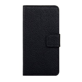 Harga SUNSKY Flip Leather Cover for Wiko Fever (Black)