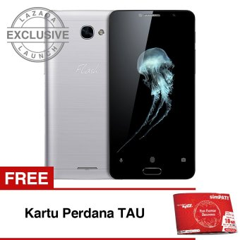 Harga Flash Plus 2 LTE 32GB Ram 3GB - Luna Silver