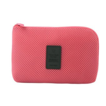 Harga EZY Gadget Pouch - Coral Pink
