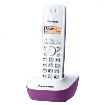 Harga Panasonic Corless Phone KX-TG1611 Wireless Telephone - Ungu