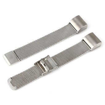 Harga Milanese Loop Stainless Steel Metal Watch Band Strap For Fitbit Charge 2 (Silver) - intl