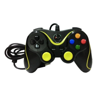 Harga XTech GamePad Single USB PC Controller XG-881D High Quality - Hitam