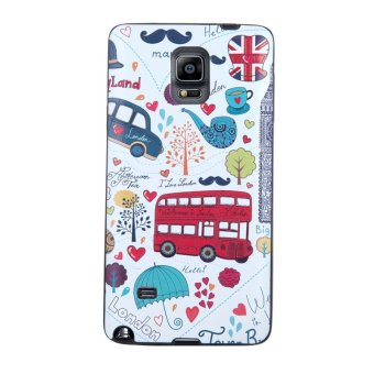 Harga Soft TPU 3D Embossed Painting Cover Case For Samsung Galaxy Note 4