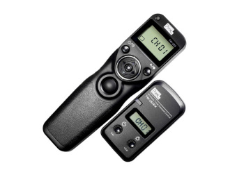 Harga PIXEL TW-283/S2 LCD Wireless Shutter Release Timer Remote Control FOR SONY a58 NEX-3NL a7 a7R a7II a7RII a75 a3000 a6000 HX300 RX100II - intl