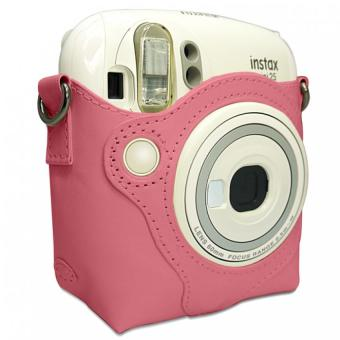 Harga Takashi Protective PU Leather Bag with Strap for Fujifilm Instax Mini 25 Instant Camera (Pink) (Intl)