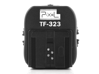 Harga Pixel TF-323 P-TTL Flash Shoe Sync Adapter with Extra PC Sync Port Dedicated for Sony Alpha DSLR & Flashgun - intl