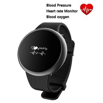 Harga Heart Rate Blood Pressure Monitor Smart Wristband A98 Blood Oxygen Detection Fitness Tracker Smart Bracelet with IP67 Waterproof for Smart Devices - intl