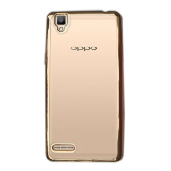 Harga Case Ultrathin Phone Case for Oppo R7 - Gold