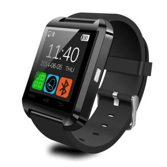 Harga U Watch - U8 Smart Watch For Android and iOS - Hitam