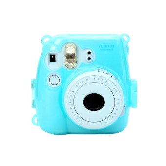 Harga Fujifilm Instax 8 Hardcase Glow In The Dark-Biru