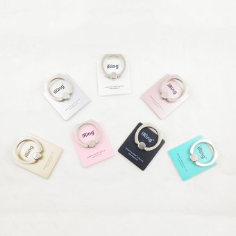 Harga Delcell iRing Mobile Phone Stand Delcell - Universal Holder - Gold