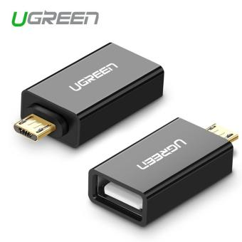 Harga Ugreen Micro USB to USB OTG Adapter Male to USB 2.0 Micro Adapter Converter for Android Mobile Phones(Black) - intl