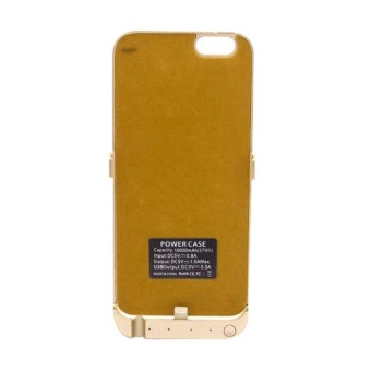 Harga Bestchoise Powercase For iPhone 6/6s 10000mAh - Gold