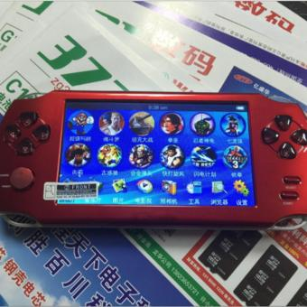 Harga 5.1-Inch 8G PSP Game Player 10000 Free Games Handheld GBA Consoles = MP3/MP4/MP5/FM/Camera (Red) - intl