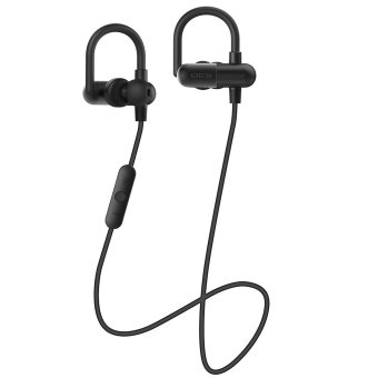 Harga QCY QY11 APTX HIFI 3D stereo earphones MP3 bass music headset bluetooth 4.1 wireless headphones sports ear hook for ios android( Black) - intl