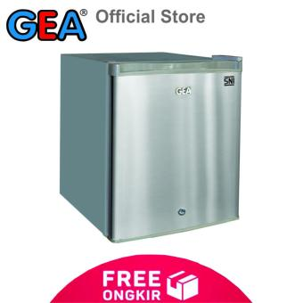 GEA Kulkas Mini Portabel / Mini Bar RS-06DR - Grey - KHUSUS JABODETABEK