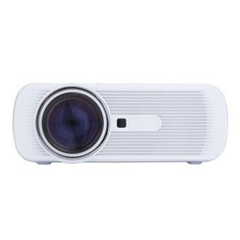 Harga T4shops BD-80 LCD LED Projector 1000LM 1080P + TV Tunner - Putih