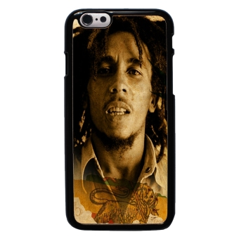 Harga Bob Marley Pattern Phone Case For iPhone 6 (Black)