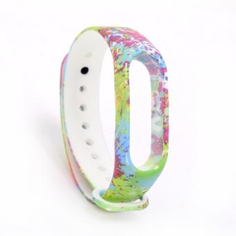 Harga Colourful Replacement Strap for Xiaomi Mi Band 2 Band Smart Bracelet Accessories - intl