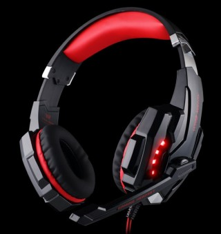 Harga KOTION EACH G9000 3.5mm Game Headphone Red