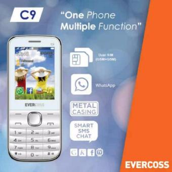 Harga Evercoss c9 Fun Series - 1.3 Mp Camera - Java