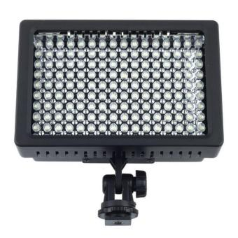 Harga Lampu Flash Kamera DSLR Nikon Canon Sony 126 LED - HD-126 - Black