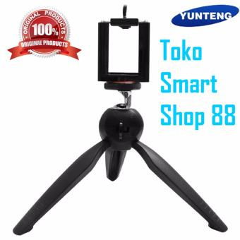 Harga YunTeng YT-228 Mini Tripod + Phone Holder Clip