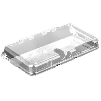 Harga Elenxs Crystal One-piece Plastic Case Shell Skin for Nintendo 3DS New Clear