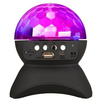Harga JOOX L-740 Wireless Bluetooth Speaker Disco LED Party Lights (Black)